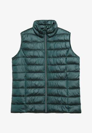 SELLER7 - Waistcoat - dunkelgrün