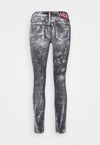 Diesel - D-JEVEL - Jeans Skinny Fit - black/white - 1