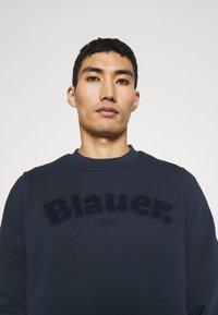 Blauer - C NECK LOGO - Sweater - navy - 3