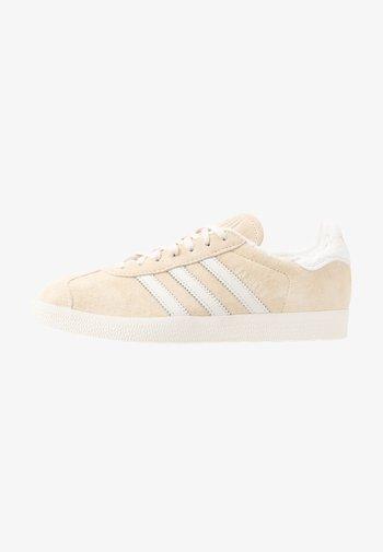 GAZELLE - Trainers - ecru tint/core white/footwear white
