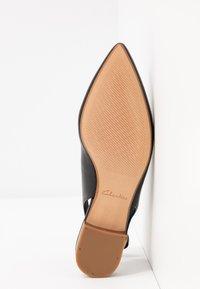 Clarks - LAINA - Slingback ballet pumps - black - 6