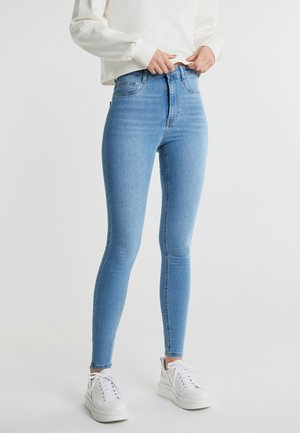 MOLLY HIGH WAIST - Jeans Skinny Fit - gina blue