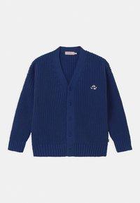 TINYCOTTONS - FUJI CHUNKY UNISEX - Cardigan - blue - 0