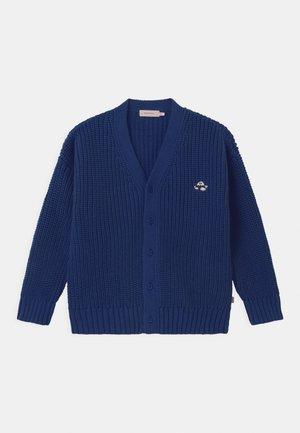 FUJI CHUNKY UNISEX - Strickjacke - blue