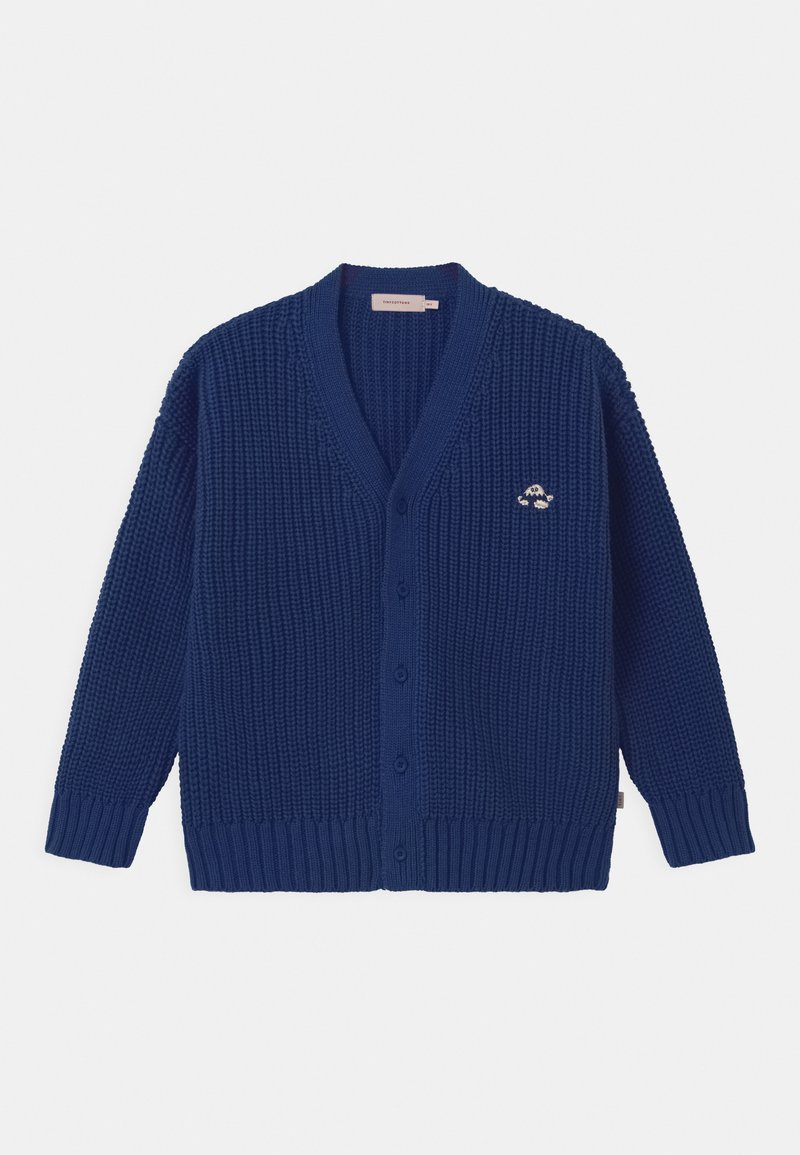 TINYCOTTONS - FUJI CHUNKY UNISEX - Cardigan - blue
