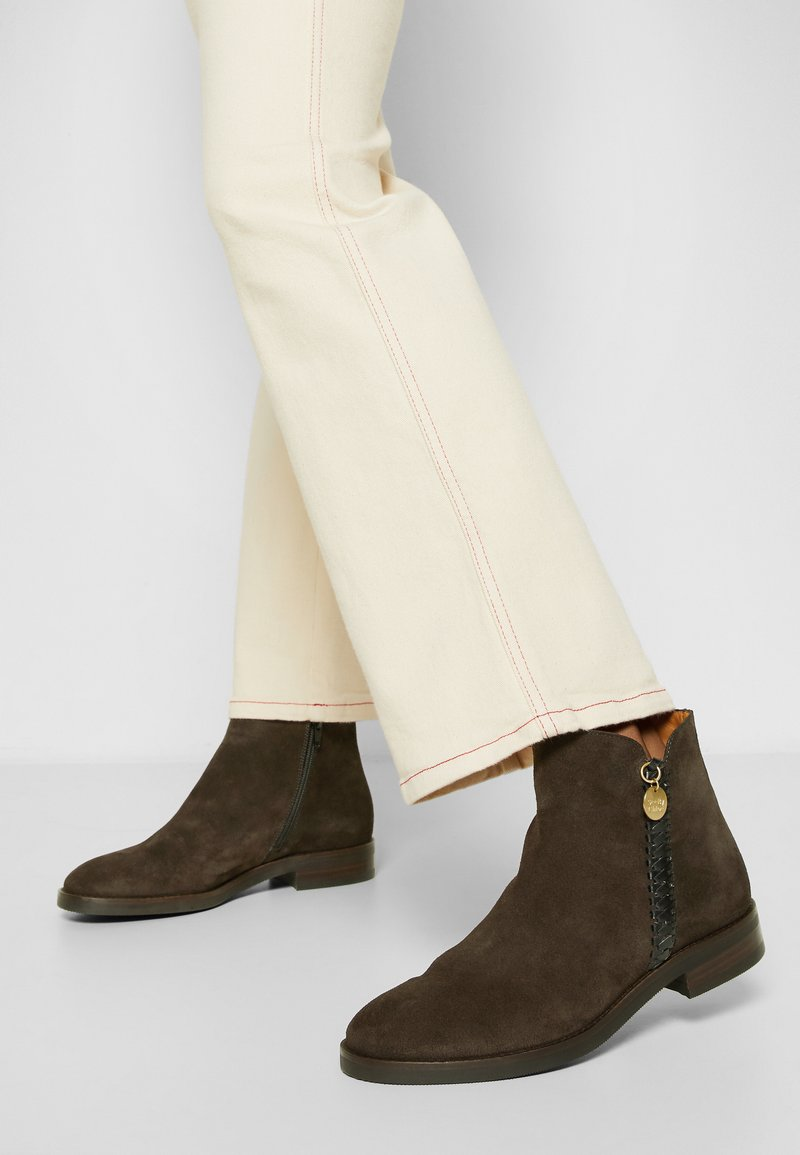 See by Chloé - LOUISE - Ankle boots - tan