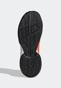 adidas Performance - UBERSONIC 4 K - Multicourt tennis shoes - orange - 4