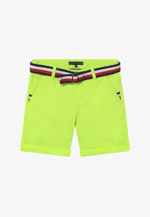 ESSENTIAL BELTED - Shorts - yellow