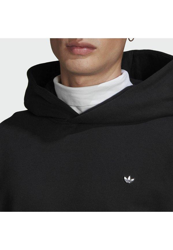 adidas Originals PREMIUM HOODY UNISEX - Bluza - black/czarny Odzież Męska YPKR