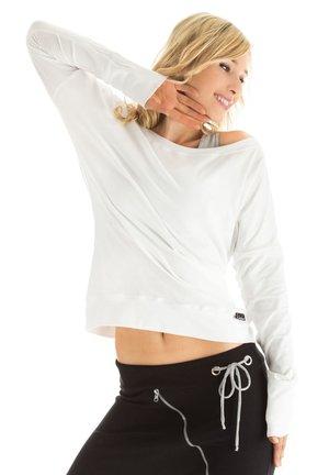 LONGSLEEVE - Sweatshirt - weiß