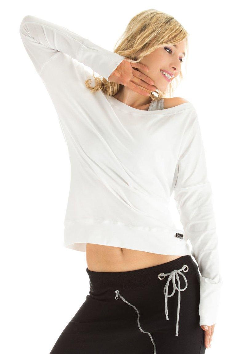 Winshape - LONGSLEEVE - Sweatshirt - weiß