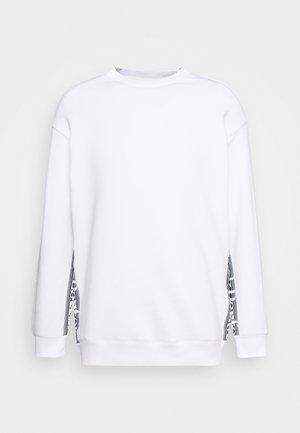 BOUNCE LOGO CREW - Sweatshirt - white