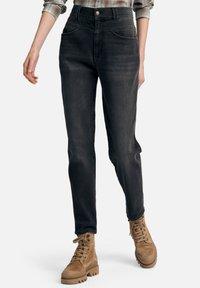 DAY.LIKE - Straight leg jeans - dark grey denim - 0