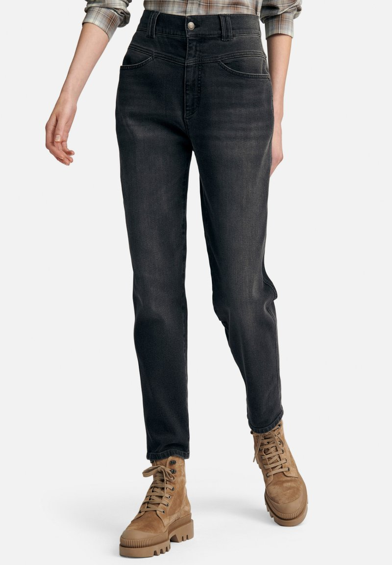 DAY.LIKE - Straight leg jeans - dark grey denim