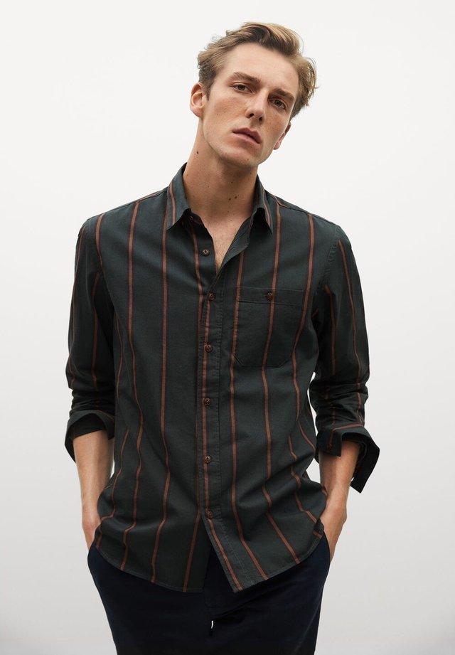 ALEX - Koszula - khaki