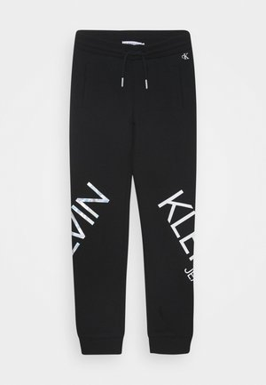 HERO LOGO - Tracksuit bottoms - black