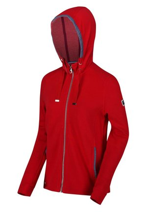 RAMANA  - Fleece jacket - true red