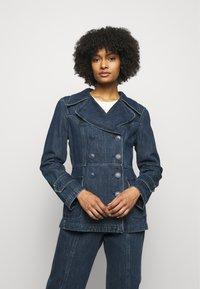Alberta Ferretti - JACKET - Denim jacket - blue - 0