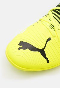 Puma - FUTURE Z 3.1 TT - Astro turf trainers - yellow alert/black/white - 5