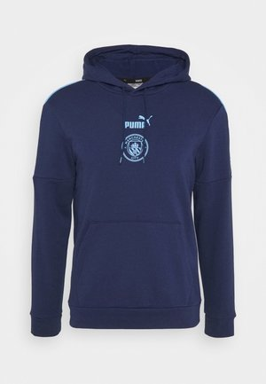 MANCHESTER CITY HOODY - Klubtrøjer - peacoat