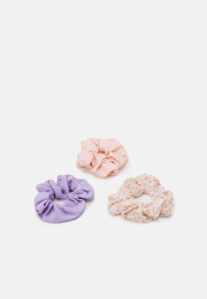 PCJUVENA SCRUNCHIE 3 PACK - Hair styling accessory - kentucky blue/rose