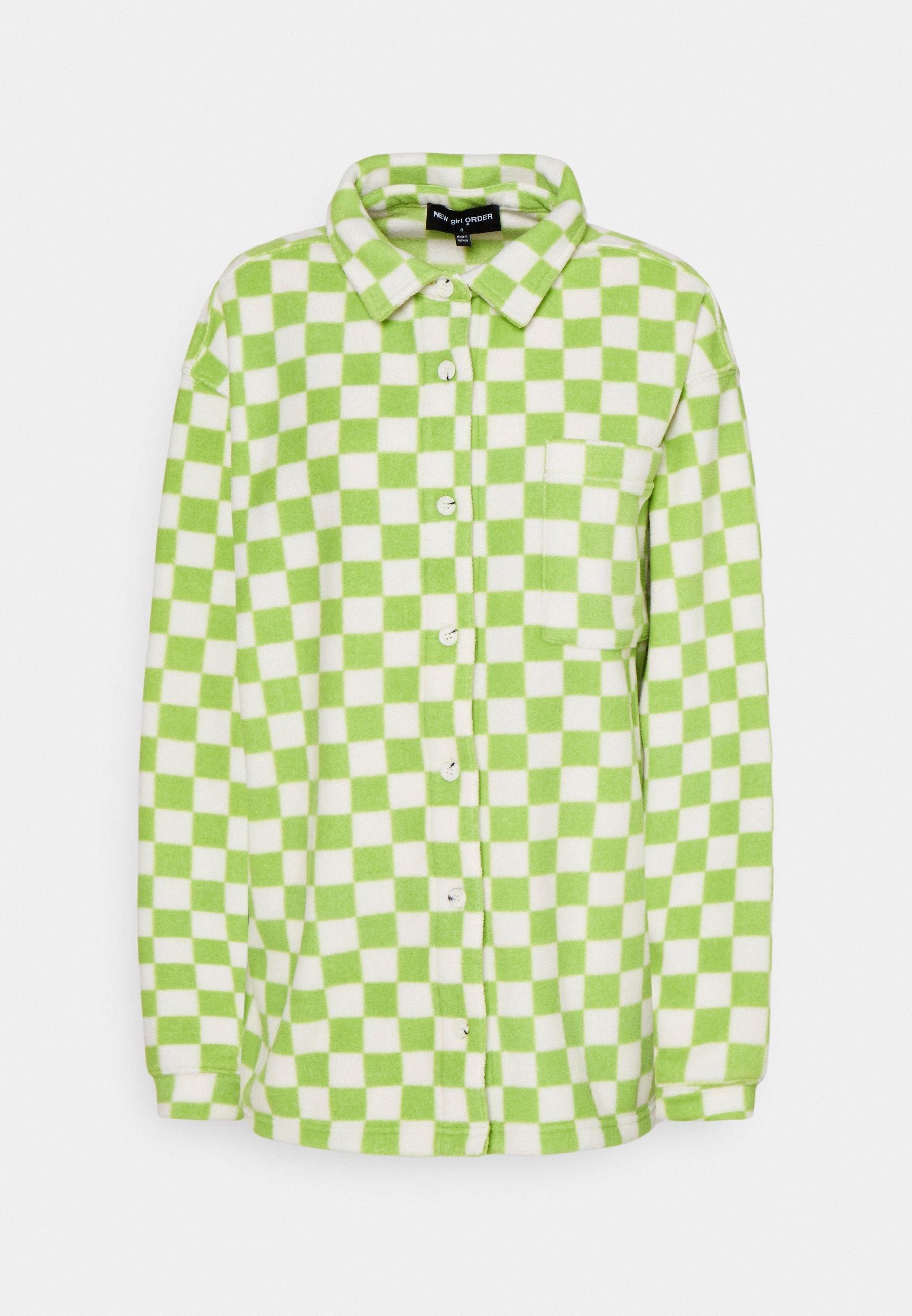 Women CHECKERBOARD - Fleece jacket