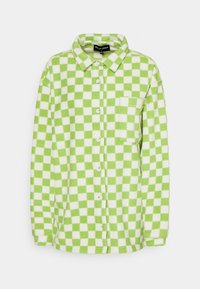 NEW girl ORDER - CHECKERBOARD - Veste polaire - green - 0
