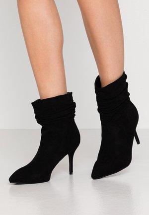 LOGIC - High heeled ankle boots - black
