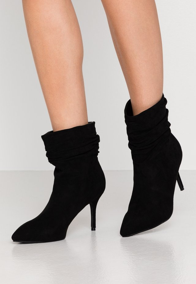 LOGIC - High heeled ankle boots - black