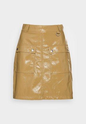 NOUR SKIRT - A-line skirt - dull gold
