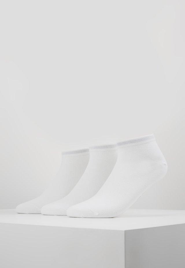 LARSEN SNEAKER 3 PACK - Sportovní ponožky - white