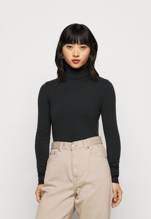 VMHAPPY BASIC ROLLNECK BLOU - Svetr - black