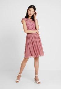 ONLY - ONLCROCHETTA - Day dress - mesa rose - 2