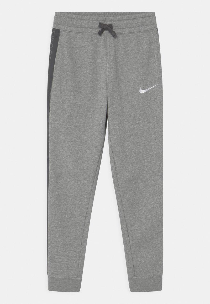 Nike Sportswear - Trainingsbroek - dark grey heather/white