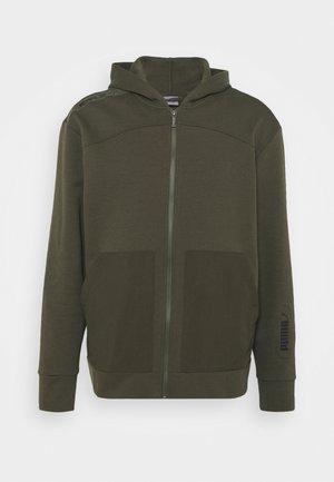NU TILITY HOODIE - Zip-up hoodie - forest night