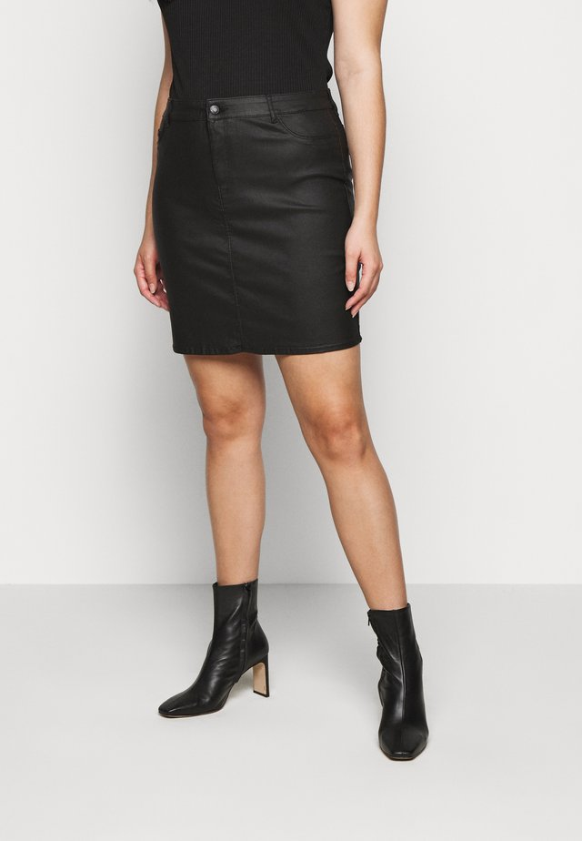 VMSEVEN SHORT SKIRT - Spódnica mini - black