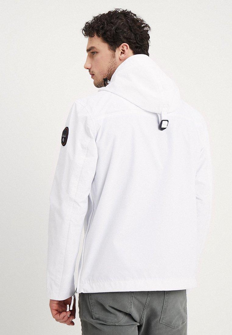 Hämmästyttävä Miesten vaatteet Sarja dfKJIUp97454sfGHYHD Napapijri RAINFOREST SUMMER Tuulitakki bright white