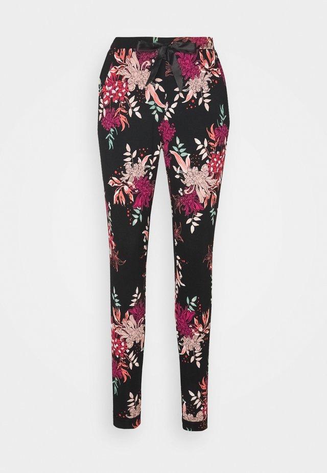 DAHLIA - Pyjama bottoms - black
