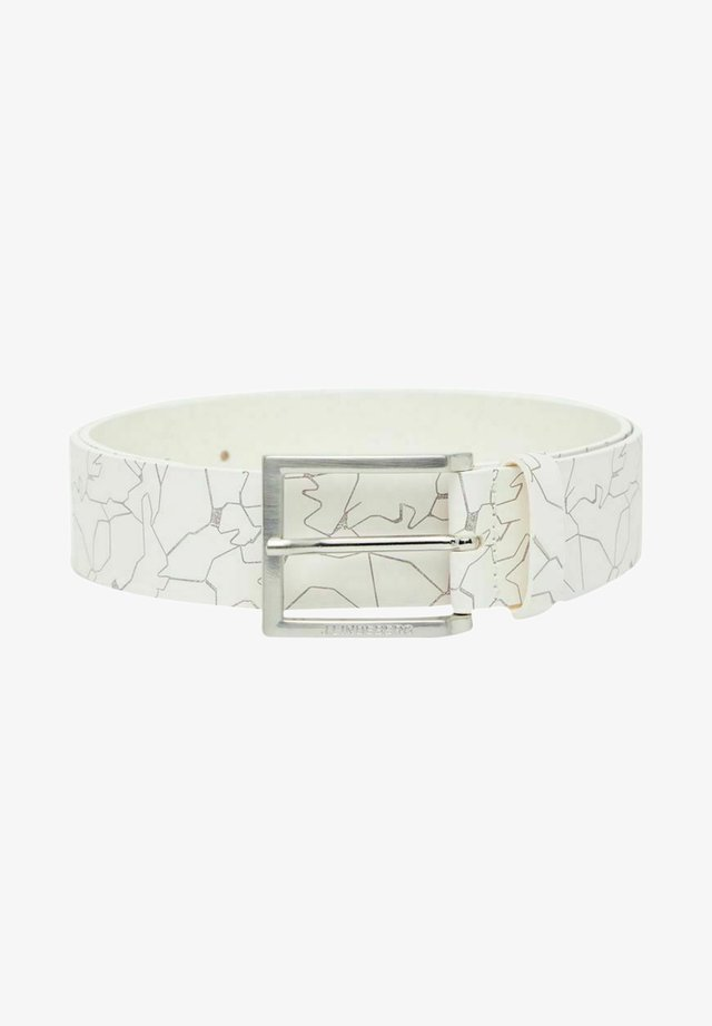 Ceinture - slit white