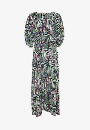 GRETELE - Maxi dress - hellgrün schwarz