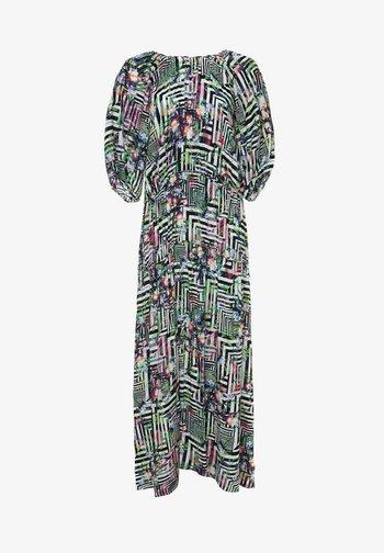GRETELE - Maxi-jurk - hellgrün schwarz