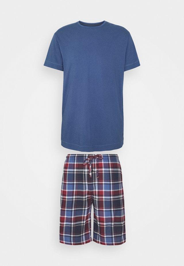 SET - Pyžamová sada - blue/red