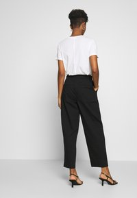 Weekday - MINO TROUSERS - Trousers - black - 2