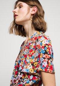 Rebecca Minkoff - SORCHA DRESS - Denní šaty - black/multi - 4