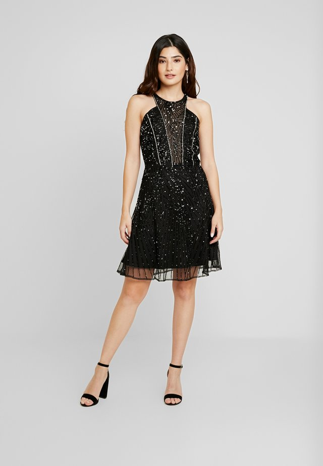 RALEIGH SKATER - Cocktail dress / Party dress - black