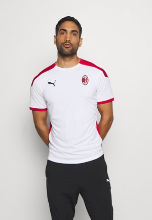 AC MAILAND TRAINING - Club wear - white/tango red