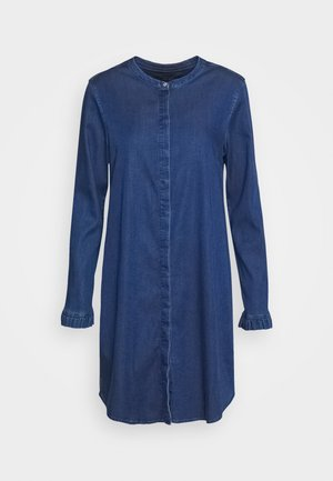 MATTIE DRESS - Denim dress - blue