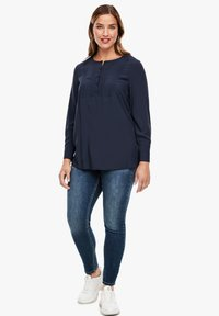 Triangle - Blouse - navy - 1
