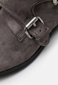 A.S.98 - CLASH - Cowboy/biker ankle boot - smoke - 5