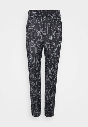CLARA TROUSERS - Pantalones - black